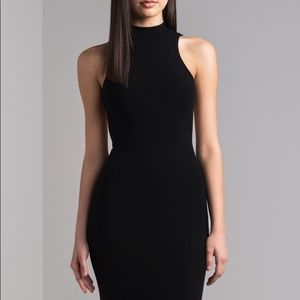 Caché Backless, High Neck Gown